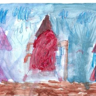 Рисунок участника Хомик Варвара, 5