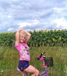 Анна Абросина, 6 лет