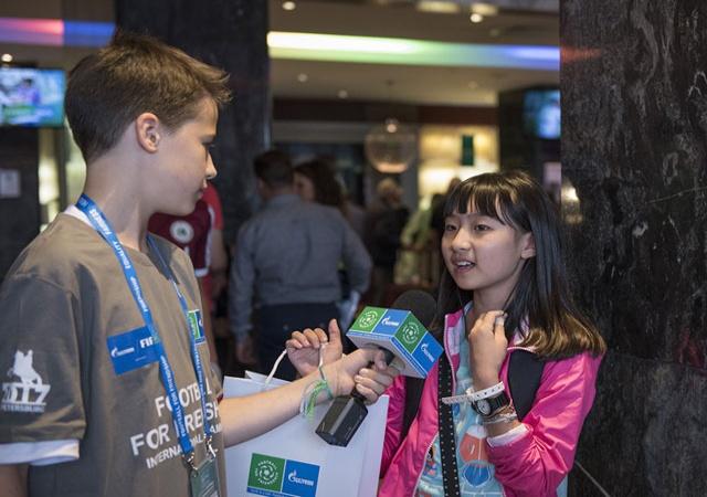 Проект «Футбол для дружбы»: объявлен конкурс юных журналистов