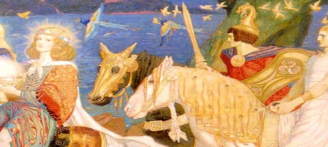 Поговорим о кельтской мифологии
