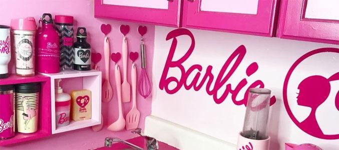 Квартира превращается в домик Barbie