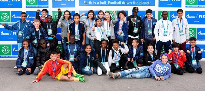 Международный детский форум «Футбол для дружбы»