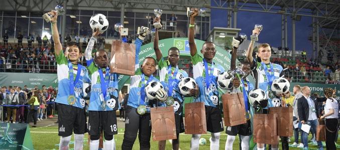 Команда Шимпанзе – чемпион мира по «Футболу для дружбы»