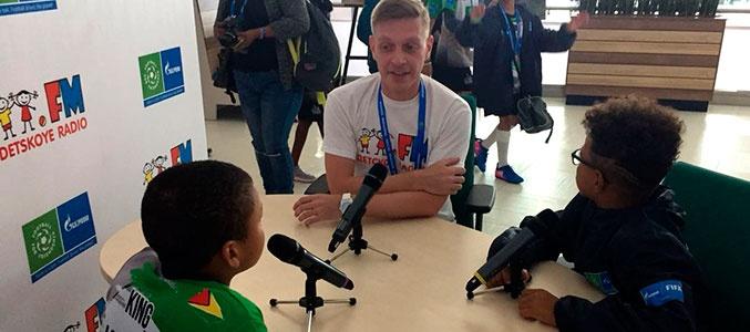 Детское радио поучаствовало в «Футболе для дружбы»