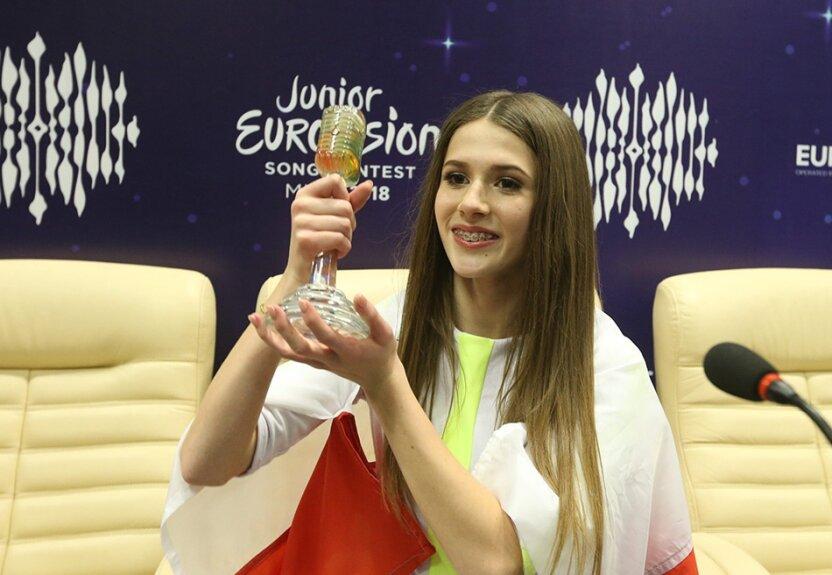 """Польша впервые в истории одержала победу на """"Детском Евровидении"""""""