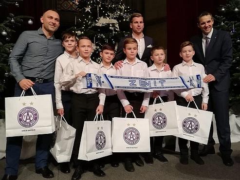 Игроки «Газпром»-Академии отправились в Вену