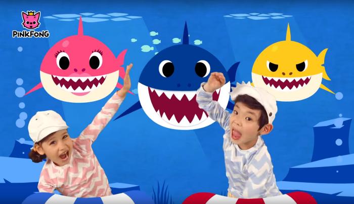 Детская песенка про акулу набрала больше 2 млрд просмотров на YouTube и вошла в Топ-100 Billboard