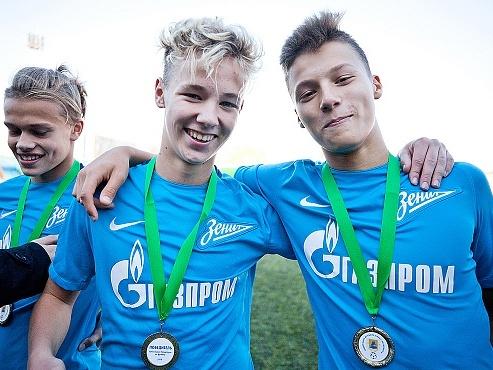 Три игрока «Зенита» U-15 вызваны в юношескую сборную России