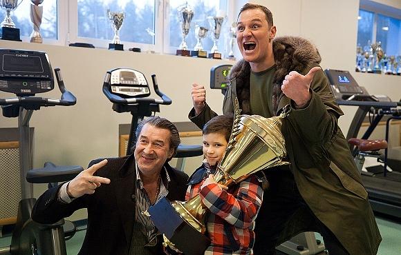 Воспитанник детского дома принял участие в тренировке команды «Газпром»-Академии