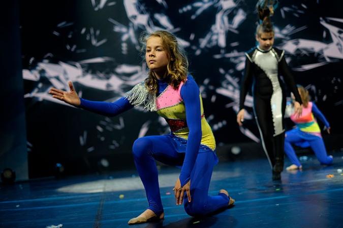 Юные артисты проявили себя на фестивале «Газпром - факел»