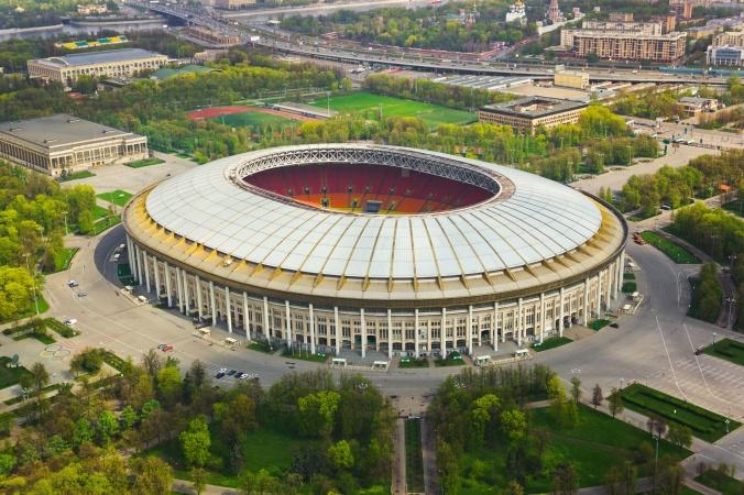 На Москвуможно будет полюбоваться с крышистадиона «Лужники»