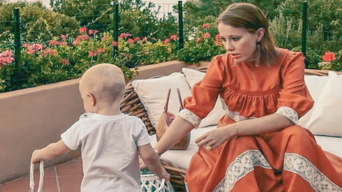 Ксению Собчак растрогало стихотворение сына