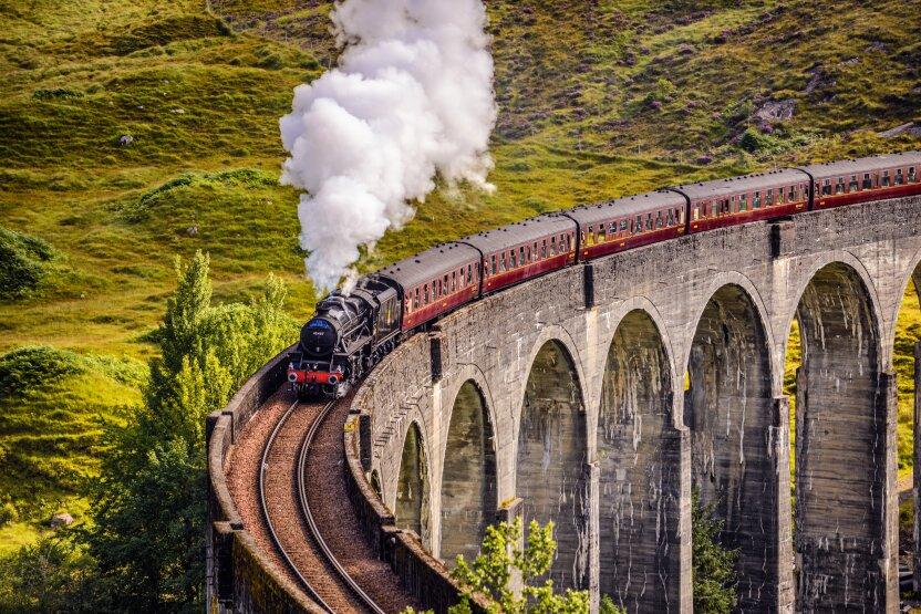 """""""Хогвартс-Экспресс"""" существует! Где и как прокатиться на знаменитом поезде из """"Гарри Поттера""""?"""