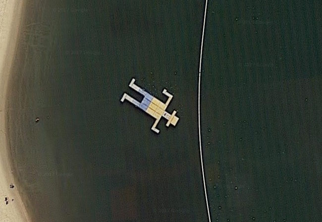 10 самых загадочных находок на Google картах