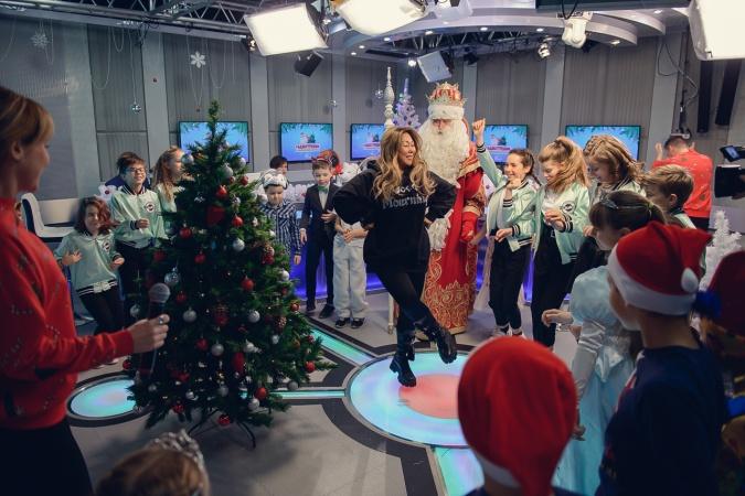 """На Детском радио прошёл """"Радиоутренник с Главным Дедом Морозом"""""""