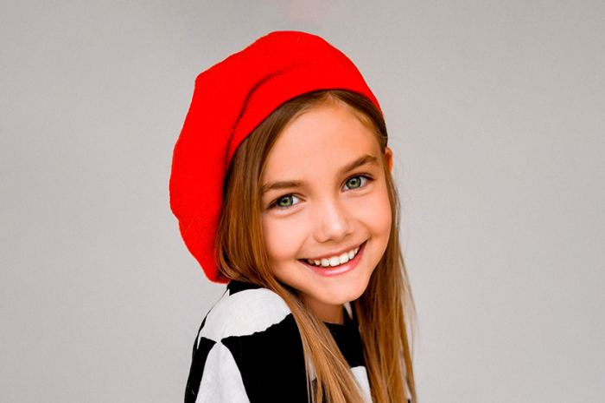 Юная актриса Марта Тимофеева в гостях у Детского радио