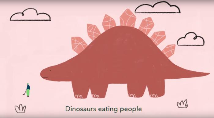 Хит про динозавров в исполнении маленькой девочки взрывает Интернет