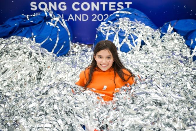 Детский праздник в честь открытия «Евровидения»