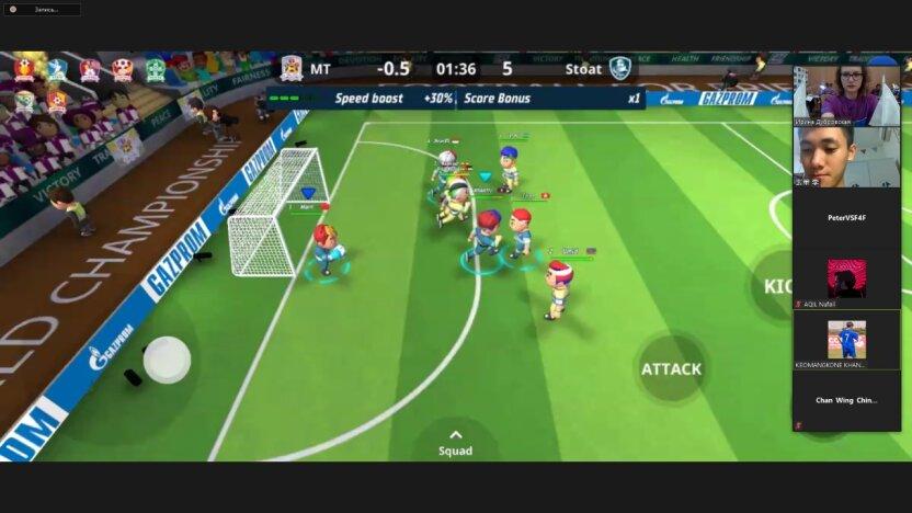 Участники из более чем 200 стран мира в составе смешанных команд приняли участие в отборочных матчах Всемирного онлайн-чемпионата по «Футболу для дружбы» 2021
