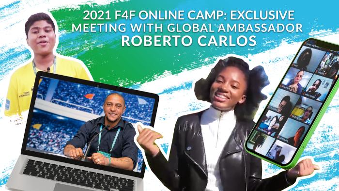 Эксклюзив от Роберто Карлоса: Глобальный посол «Футбола для дружбы» отвечает на вопросы Юных участников со всего мира