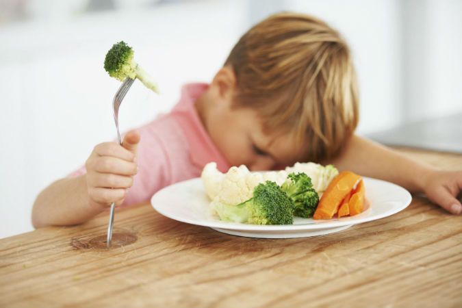 Что делать, если ребенок отказывается есть овощи