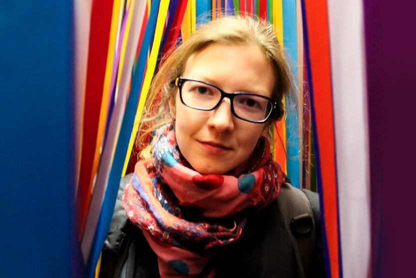 Куратор Политехнического музея  Мария Белиоглова
