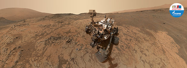 Инопланетное селфи. Марсоход Curiosity передал на землю необычное изображение